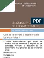 Intro a la ciencia de los materiales