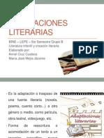3  adaptaciones literarias