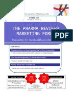 Pharma Reviews Newsletter Oct09