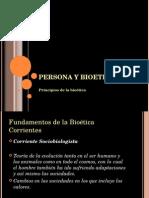 Persona y Bioetica