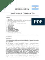 Conexion Digital Numero 552 Edicion 17 de Enero de 2010