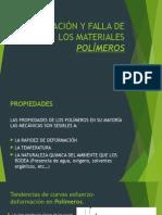 Deformación y Falla de Los Materiales Polímeros
