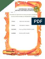 Informe 2 Medicion de Linea Base