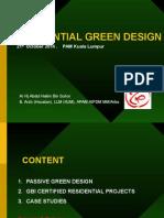 Residential Green Design