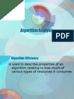 Algorithm Analysis (DASTAL)