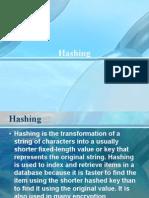 Hashing (DASTAL)