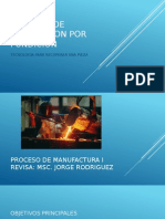 Guia de Proceso de Produccion Por Fundicion