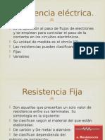 Resistencia Eléctrica EXPO