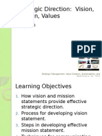 Chapter 03 - Vision - Mission - Values