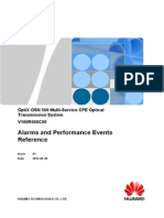 Huawei OptiX OSN 500 Alarms and Performance Events Reference(V100R006)