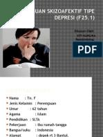 Gangguan Skizoafektif Tipe Depresi (F25