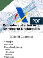 Tax Procedure in Spain