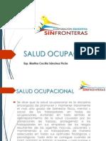 Modulo de Enfermedades Profesionales Salud Ocupacional Sin Fronteras