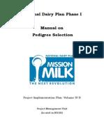PIP Vol IV B Manual on Pedigree Selection