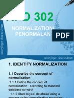 Identify Normalization