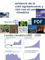 CAMBIO CLIMATICO Y AGRICULTURA-PRESENTACION.ppt