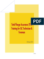 TFA Course for Foremen & QC Techn