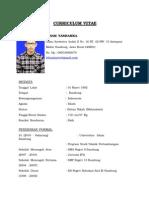Curriculum Vitae Irham Yarhamka