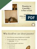 parasites in camelids webpage