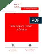 Case Writing Manual