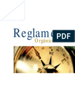 Reglamento Organico Interno