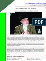 Dr Tahir-ul-Qadri writes to world leaders on publication of blasphemous caricatures