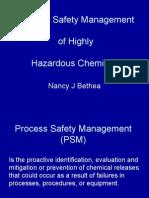 Process safety mgt
