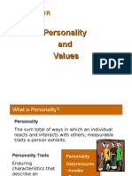 Personality and Value (Chap 4) 10019481