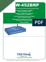 manual Qig Tew 452brp(Spanish)