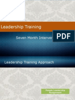 7-Month Leadership Training Intervention