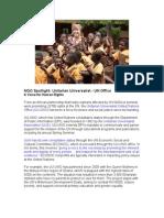 NGO Spotlight