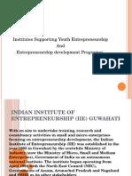 Indian Institute of Entrepreneurship (IIE) Guwahati