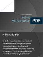 types of Merchandising