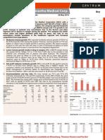 Indraprastha Medical - Q4FY14 Result Update - Centrum 26052014