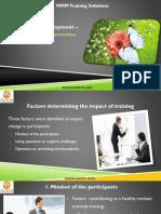 Training Development-Enhancing Transformation