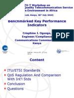 ITU- Standrad Speech Quality