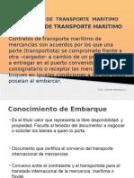 Contrato de Transporte Marítimo