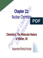 Brdy 6Ed Ch21 NuclearReactions