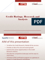 Presentation - Careers in Credit Research Aug 2014