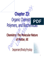 Brdy 6Ed Ch23 OrganicPolymersAndBiochemicals