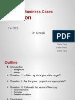 Fin 321 Case Presentation