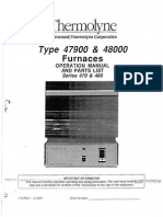 Manual Book Thermolyne Furnace