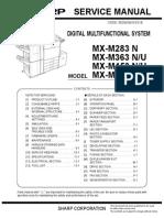Sharp MX-M283 N