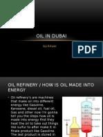 oil in dubai