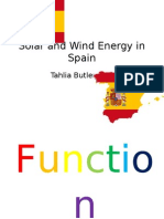 solar and wind energy in spain