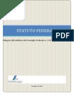 Proposta Statuto Fidal 2015