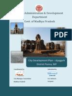 CDP Ajaygarh English