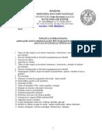 Tematica Master IAST