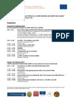 Programma - La tutela dei Diritti Umani presso la CEDU