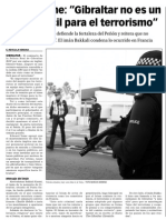 150122 La Verdad CG- Eddie Yome. 'Gibraltar no es un blanco fácil para el terrorismo' p. 9.pdf